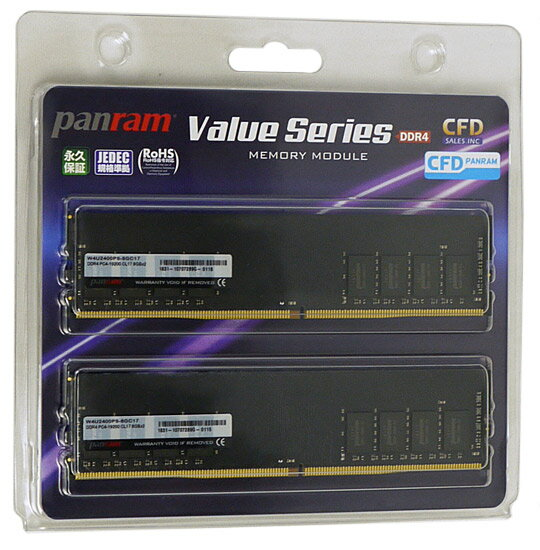 CFD Panram W4U2400PS-8GC17 DDR4 PC4-19200 8GB 2枚組