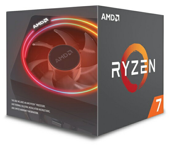 AMD Ryzen 7 2700X YD270XBGM88AF 3.7GHz SocketAM4