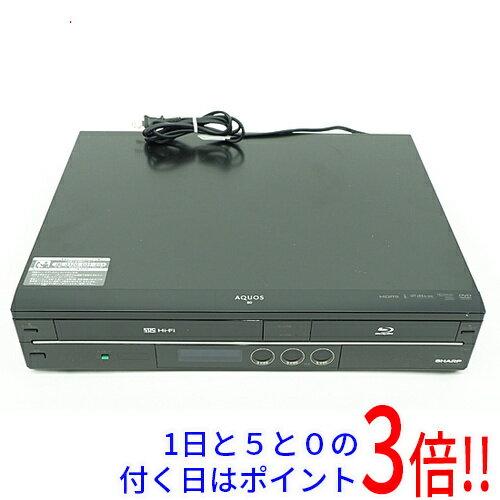 【中古】SHARP AQUOS ブルーレイディスクレコーダー 250GB BD-HDV22 リモコンなし
