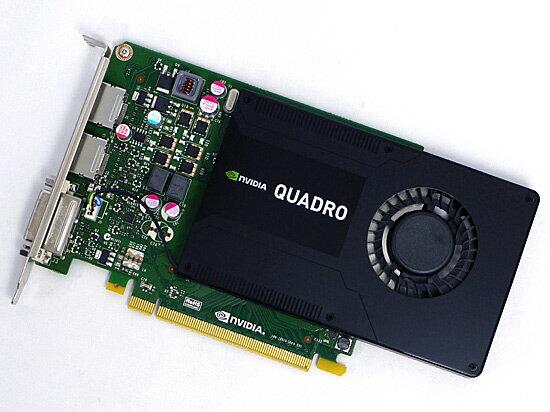 【中古】ELSA製 NVIDIA Quadro K2200 EQK2200-4GER PCIExp 4GB