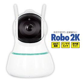 防犯カメラ 高画質 自動 追尾 首振り クラウド録画 対応 スマホ wi-fi アプリ ワイヤレス 見守り 監視 カメラ 留守番 ペット モニター 赤外線暗視 WiFi 遠隔 声掛け スマホ 在宅勤務 Dive-y Robo 2K ダイビーロボ2K GS-DVY200DTK