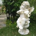【オーナメント ガーデニング】 エンジェルバイオリン 天使 置物 【Gardening 天使置物 ガーデンオーナメント】★上品な天使が玄関でお…
