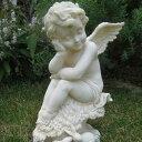 【オーナメント ガーデニング】【天使 置物】 うたたねエンジェル★上品な顔立ちのエンジェルシリーズ ( ガーデニング 天使置物 Garden…