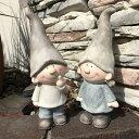 【オーナメント ガーデニング】とんがりキッズ L 2個セット 13679【Gardening 置物  女の子 男の子 妖精 ガーデン…
