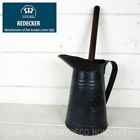 【REDECKER・レデッカー】トイレホルダー☆シックな黒色が素敵【掃除用品|トイレ掃除|トイレブラシ】