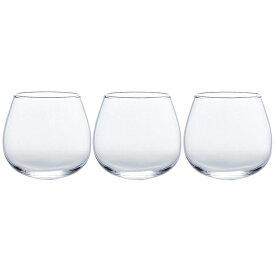 東洋佐々木ガラス タンブラー カジュアルワイングラス ブラブラタンブラー 食洗機対応 3個セット クリア 約320ml 00095-JAN-W