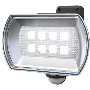 ムサシ フリーアーム式LEDセンサーライト(4.5Wワイド) 「乾電池式」 防雨型 LED-150