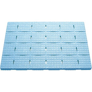 ケィ・マック お風呂すのこ 軽~いソフトすのこ 85×60cm セーフティ ブルー SPS-6085