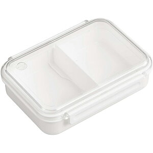 オーエスケ− 弁当箱 まるごと 冷凍弁当 ホワイト 800ml タイトボックス レシピ付 (日本製) PCL-5SR