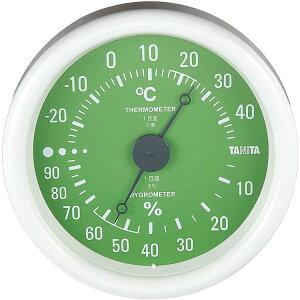 タニタ TANITA アナログ温湿度計 TT-515 グリーン