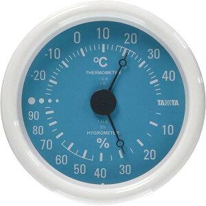 タニタ TANITA アナログ温湿度計 TT-515 ブルー