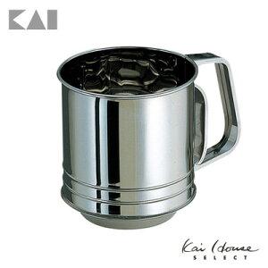 貝印 Kai House SELECT サビにくくお手入れしやすい ステンレス製の粉ふるい DL6262