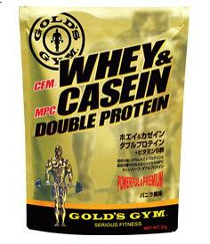 ゴールドジム ホエイ&カゼインダブルプロテイン バニラ風味 2kg
