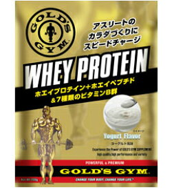 ゴールドジム ホエイプロテイン+ホエイペプチド&ビタミン ヨーグルト風味 720g