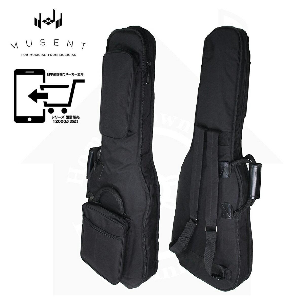 クッション ネックホルダー 付き エレキギター 用 ギグバッグ ギグケース バッグ MSGBSEG1200