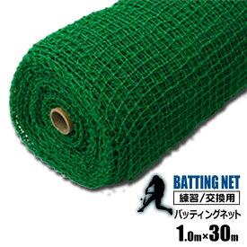 シンセイ バッティングネット 練習用 ネット 1m×30m 野球 打撃ネット サッカー 網 練習器具 トレーニング 簡易フェンス