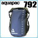アクアパック 792 トレイルプルーフトコア デイサック 28L ブラック/ブルー 【メール便不可】