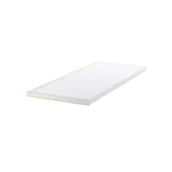 (メーカー直送)(代引不可) TEMPUR テンピュール マットレス トッパー7 セミダブル ホワイト/クリーム (ラッピング不可)