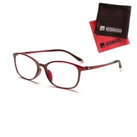 小松貿易 老眼鏡 ピントグラス PINT GLASSES 707RE (PG-707-RE) 女性用 (老眼度数:+0.60〜2.50D) (クロスセット)