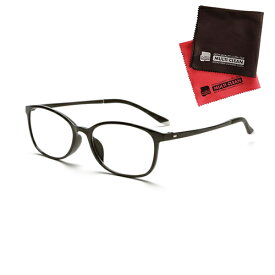 老眼鏡 ピントグラス 小松貿易 PINT GLASSES 707BK (PG-707-BK) 男性用 (老眼度数:+0.60〜2.50D) (クロスセット)