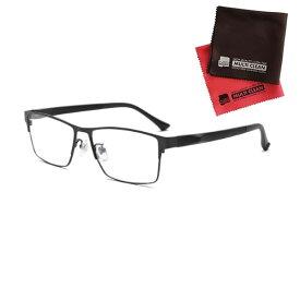 老眼鏡 ピントグラス 小松貿易 PINT GLASSES PG-111L-BK 男性用 軽度レンズモデル(老眼度数:+1.75D〜+0.0D) (クロスセット)