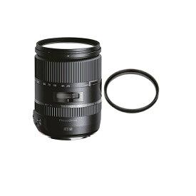 タムロン 28-300mm F/3.5-6.3 Di VC PZD キヤノン用 Model:A010E 高倍率ズームレンズ (レンズ保護フィルター付)