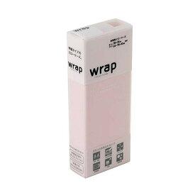東京西川 WRAP ピローケース さらっとなめらかタイプ WR4510 P ピンク PGT2024488