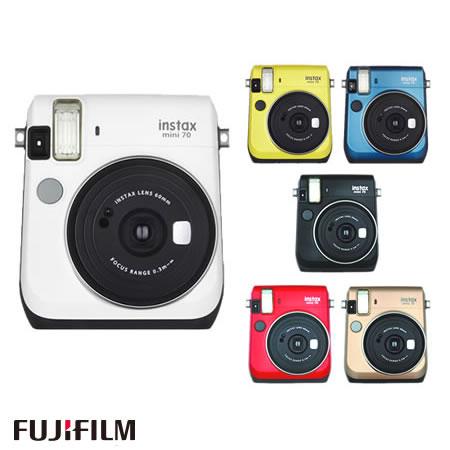 富士フィルム インスタントカメラ チェキ instax mini 70N [カラー選択式](FUJIFILM)