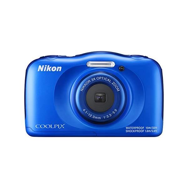 Nikon(ニコン) デジカメ COOLPIX W100 [ブルー][マリン]【防水デジカメ】