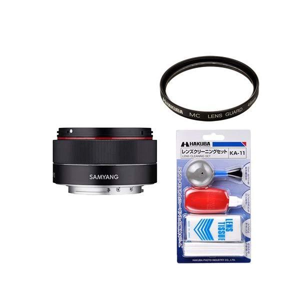 [レンズフィルター&クリーニングセット付き! ]交換レンズ サムヤン AF 35mm F2.8 アルファFE用