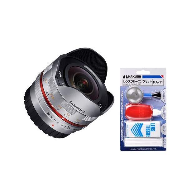 [クリーニングセット付き!]交換レンズ サムヤン 7.5mm/3.5 オリンパス マイクロ4/3用 SV