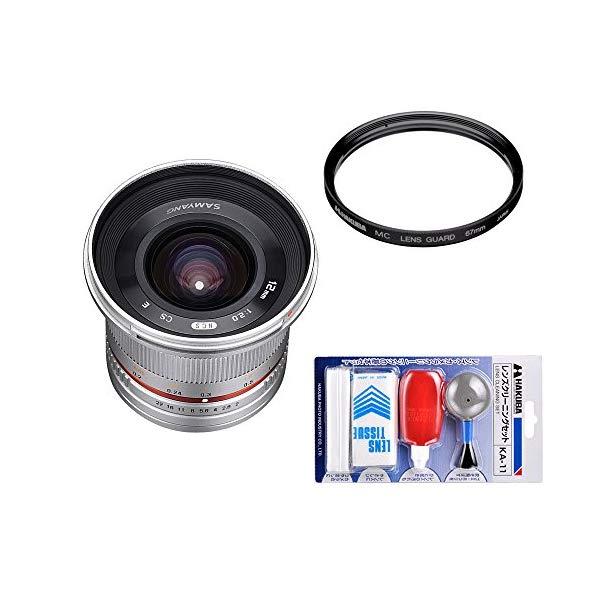 [レンズフィルター&クリーニングセット付き! ]交換レンズ サムヤン 12mm F2.0 フジX用 SV