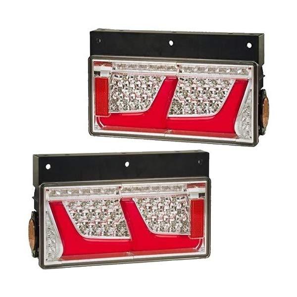 【送料無料】【左右セット】 [KOITO] LEDRCL-24R2RR/L 中・大型トラック用LEDテールランプ オールLEDリアコンビネーションランプ 2連タイプ 小糸製作所【大型カー用品】
