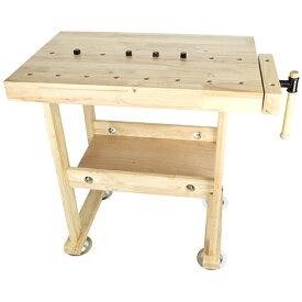 (メーカー直送/代引き不可)藤原産業 SK11 木製作業台 WKB-800 木工バイス付