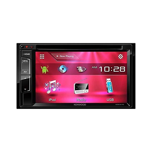 ケンウッド [KENWOOD] DDX3170 DVD/CD/USB/iPodレシーバー 6.2V型【カーオーディオ】