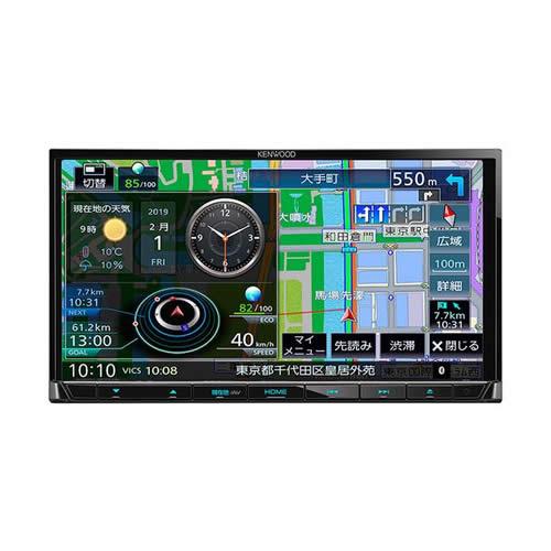 ケンウッド 彩速ナビゲーション MDV-S706 地上デジタルTVチューナー/ Bluetooth内蔵 DVD/USB/SD AVナビゲーションシステム(カーナビ)(KENWOOD)