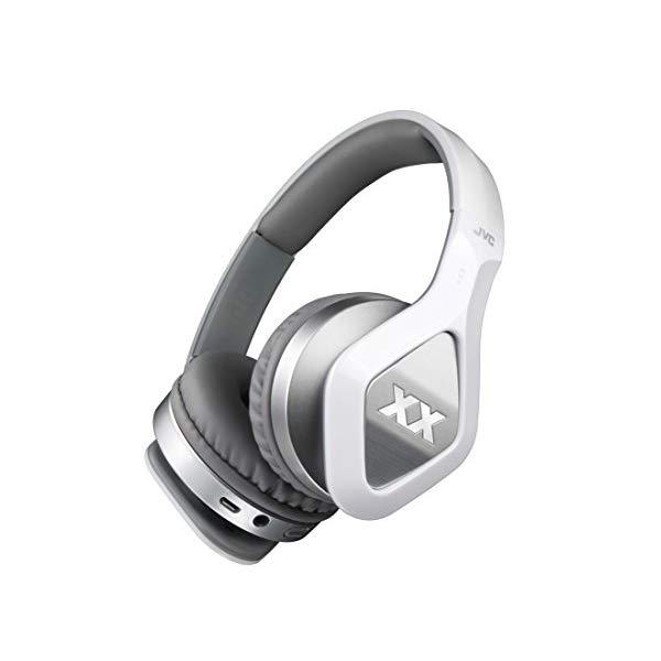 JVCケンウッド ワイヤレスステレオヘッドセット HA-S900XBT-W ホワイト [Bluetooth対応][ヘッドバンド型]