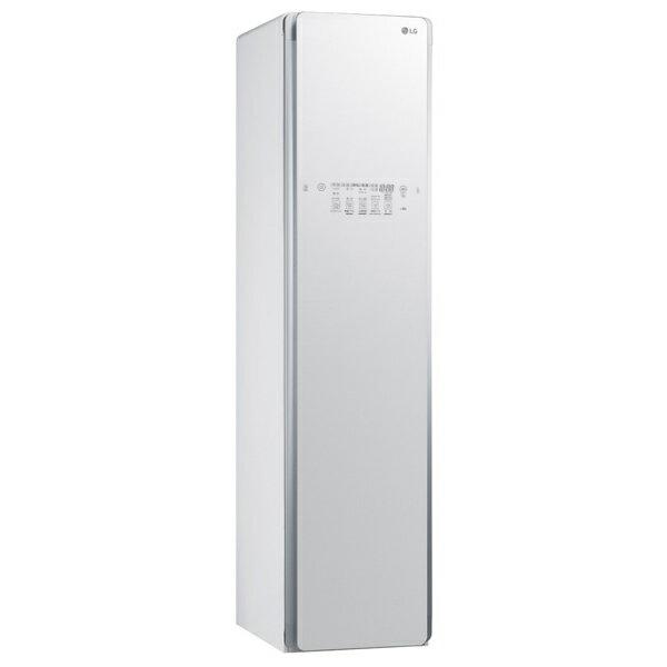(メーカー直送/配送設置込)(代引き不可)LGエレクトロニクス S3WER ホワイト スチームウォッシュ&ドライ ライフスタイルクローゼット「LG styler」