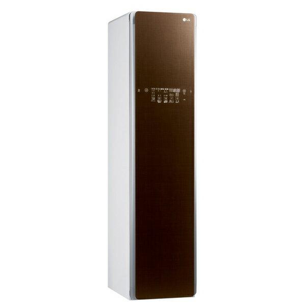 (メーカー直送/配送設置込)(代引き不可)LGエレクトロニクス S3RER ブラウン スチームウォッシュ&ドライ ライフスタイルクローゼット「LG styler」