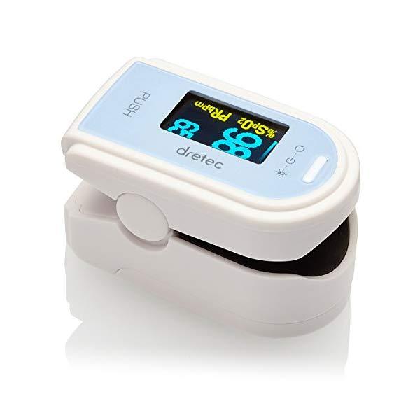 ドリテック OX-101BLDI ブルー パルスオキシメータ [血中酸素計][パルスオキシメーター][OX101BLDI]