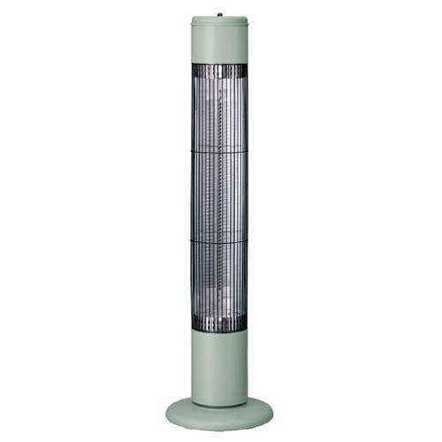 スリーアップ タワーカーボンヒーター NOPPO (ノッポ) CB-T1831GN レトログリーン (暖房機/電気ストーブ)(CBT1831GN)(Three-up) (ラッピング不可)
