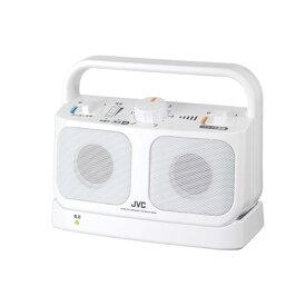 みみ楽 ワイヤレススピーカー ミニスピーカー テレビ用 JVC SP-A850-W ホワイト SPA850W (JVCケンウッド)