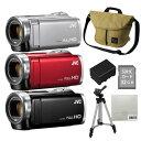 ビデオカメラ ムービーカメラ エブリオ JVC(ビクター) ハイビジョンメモリームービー GZ-E880 Everio JVCケンウッド(…