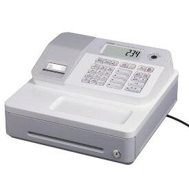 カシオ 電子レジスター SE-G2-WE ホワイト 消費税率簡単変更 4部門(ラッピング不可)