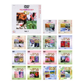 カラオケ dvd 750曲の大ボリューム カラオケ DVD音多カラオケ BEST50 15枚セット [Vol.1〜15]