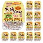 (12点セット)越後製菓玄米ごはん150gレンジで簡単レトルト新潟県産コシヒカリ玄米100%使用(ラッピング不可)
