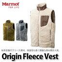 Marmot フリースジャケット TREK FLEECE VEST(オリジンフリースベスト) MJF-F6108 【メンズ/男性用】【メール便不可】【ラッピング...