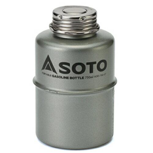 SOTO(ソト)SOD-750-07 ポータブルガソリンボトル750ml(新富士バーナー)
