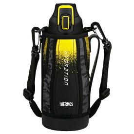 THERMOS サーモス 真空断熱スポーツボトル FHT-800F(BK-C)ブラックカモフラージュ(0.8L/800ml)(スポーツドリンク OK)(保冷専用水筒)