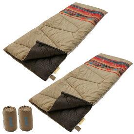LOGOS(ロゴス)丸洗い寝袋ファミリー・10(ナバホ)2個セット(72600641×2個)(ラッピング不可)